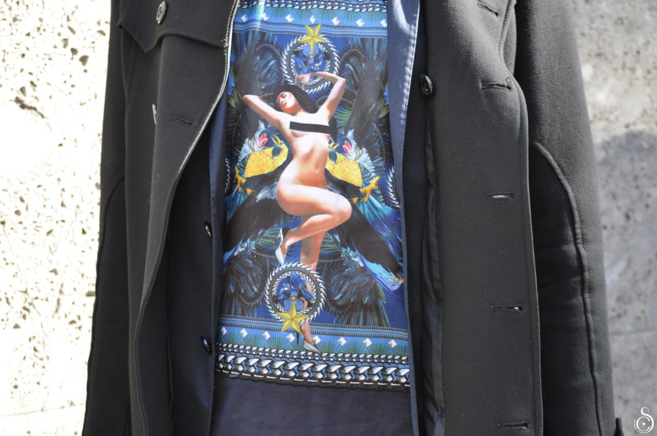 mrtuft :     Givenchy t-shirt @ D&G Fashion Show - Milan Fashion Week   Photo by Stefano Carloni