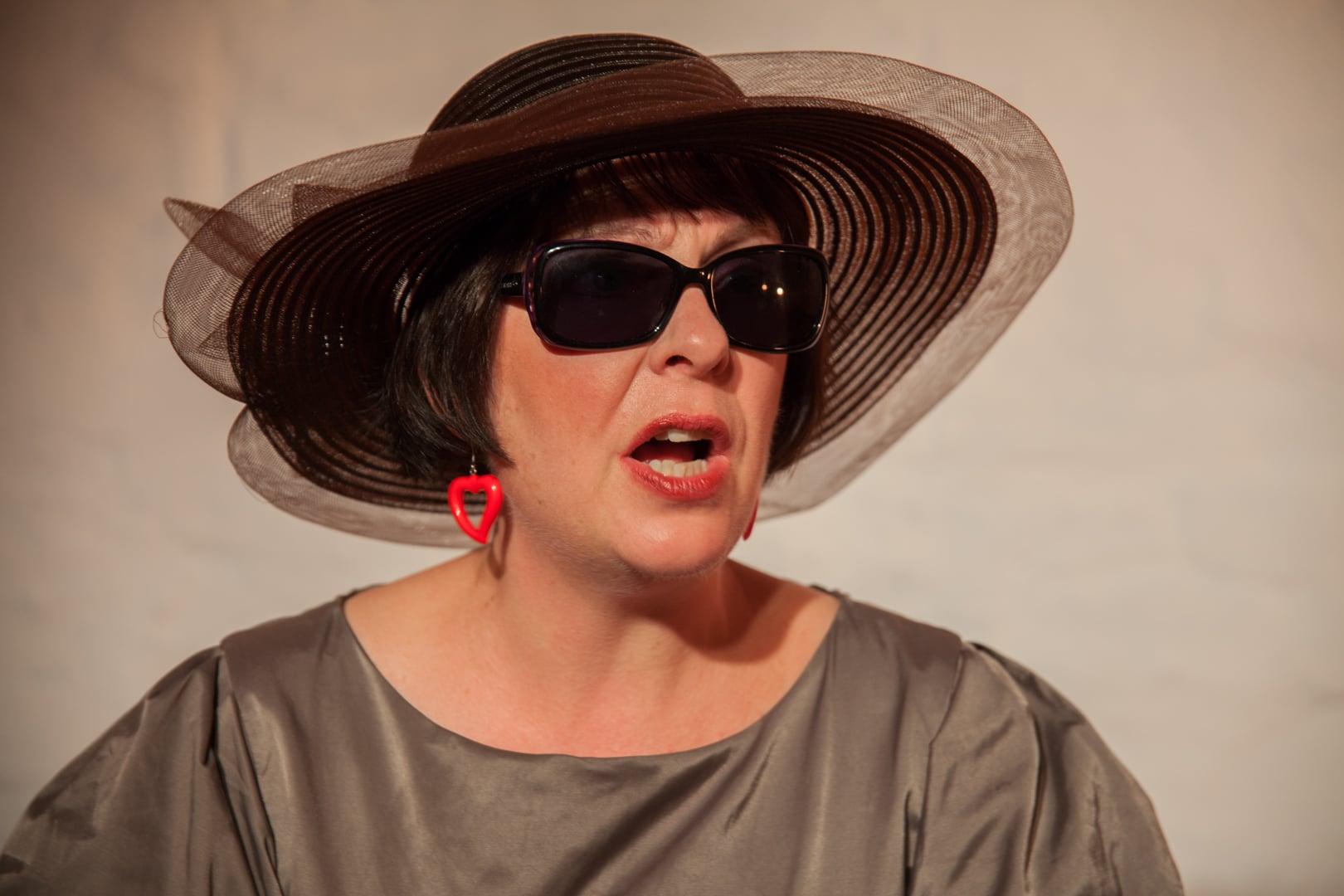 Donna Steven as Sophie. HERE @ Anvil Studio, November 2015. Photo: Pier Carthew