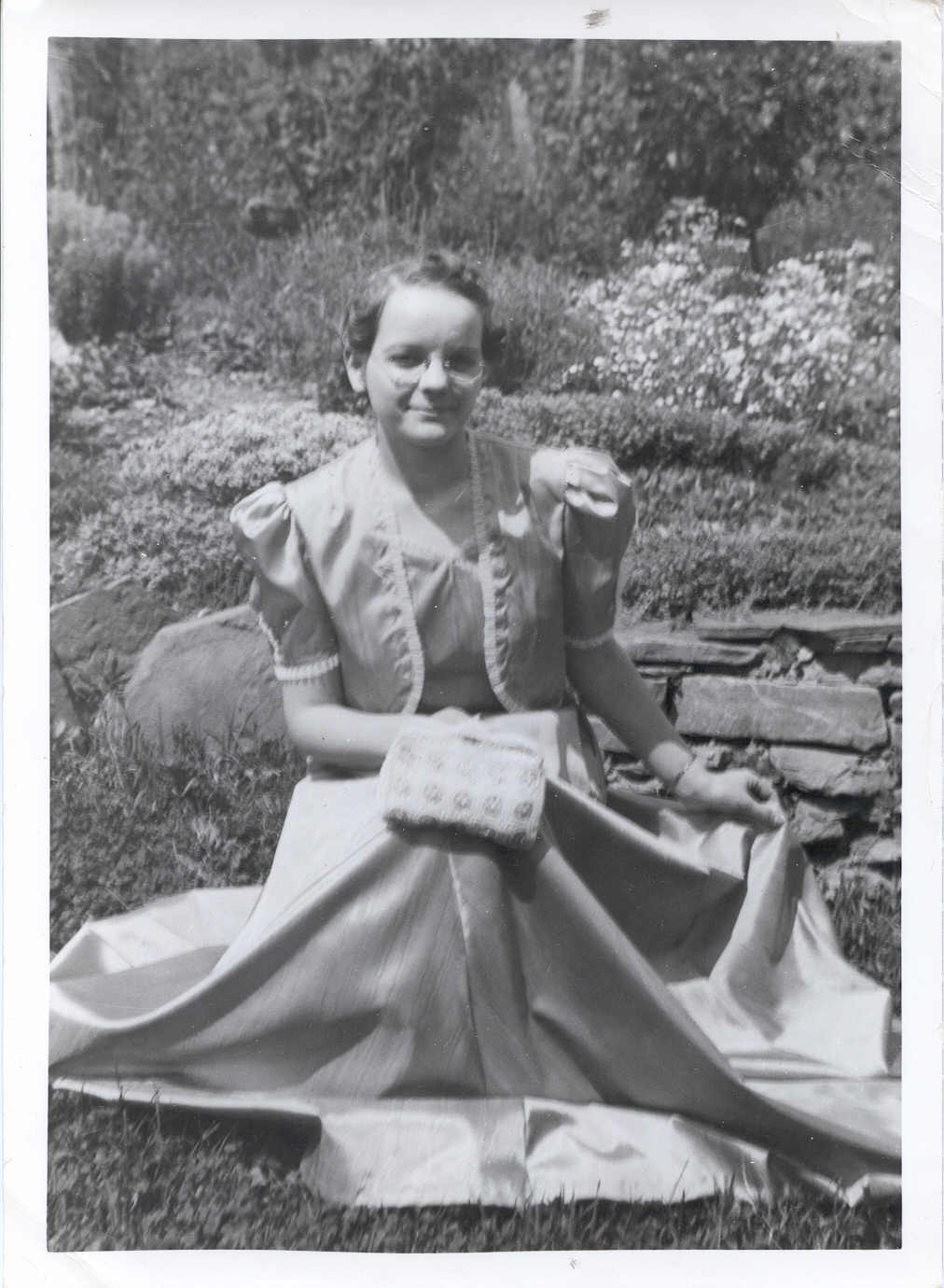 My maternal grandmother in her youth.