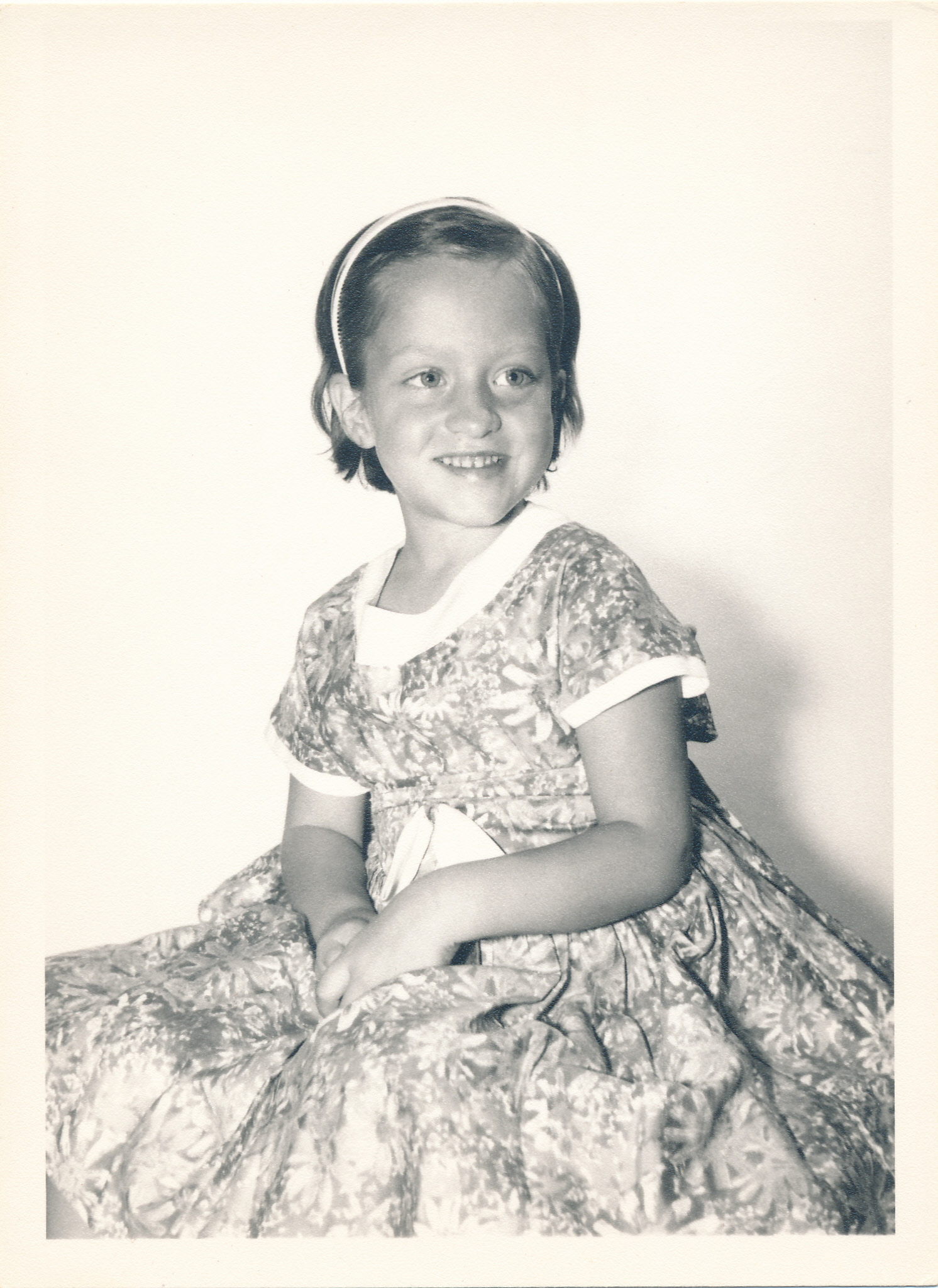 Aunt Betty as a little girl. So incredibly pure and innocent.