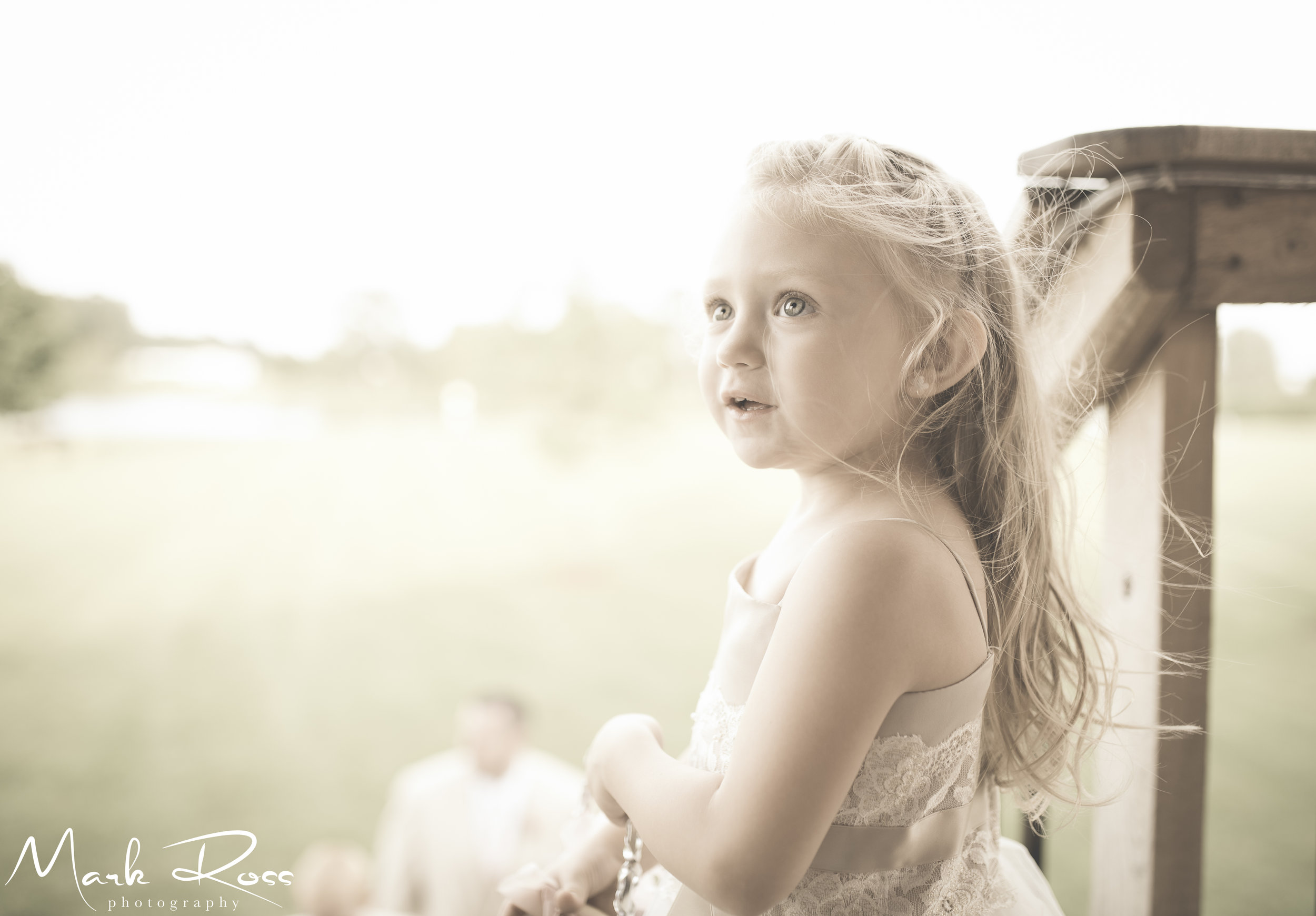 ...the flower girl after.