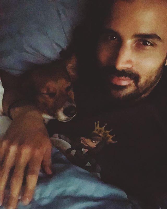 Morning snuggles☺️ * * * #markrossphotography #denver #denvercolorado #denverportraitphotographer #denverportraitphotography #denversbest #denverphotographer #denverdog #denverbeagle #beagle #pocketbeagle #sleepyboy #cuddle #cuddletime #lovelanguage #aww #instagay #brasileiro #gemini #gustavo #gusgus #disney #goatee #gayscruff #sweet #beaglesofinstagram #invisalign #relax #calm #relaxandrenew