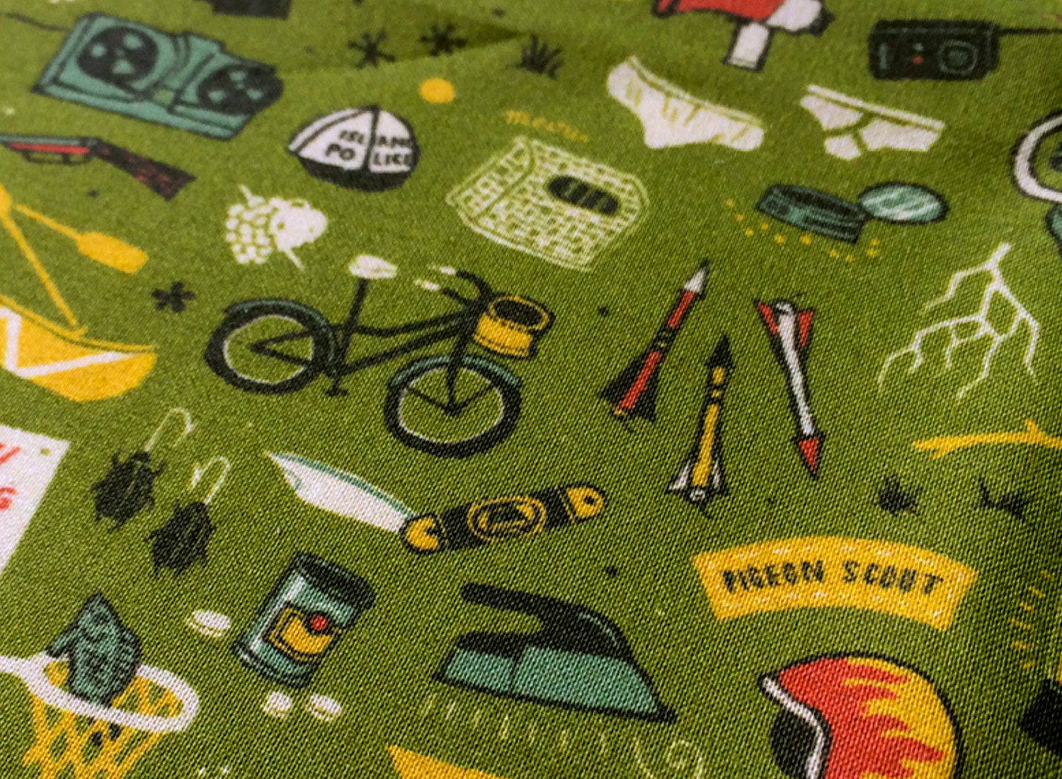 fabric available from  spoonflower