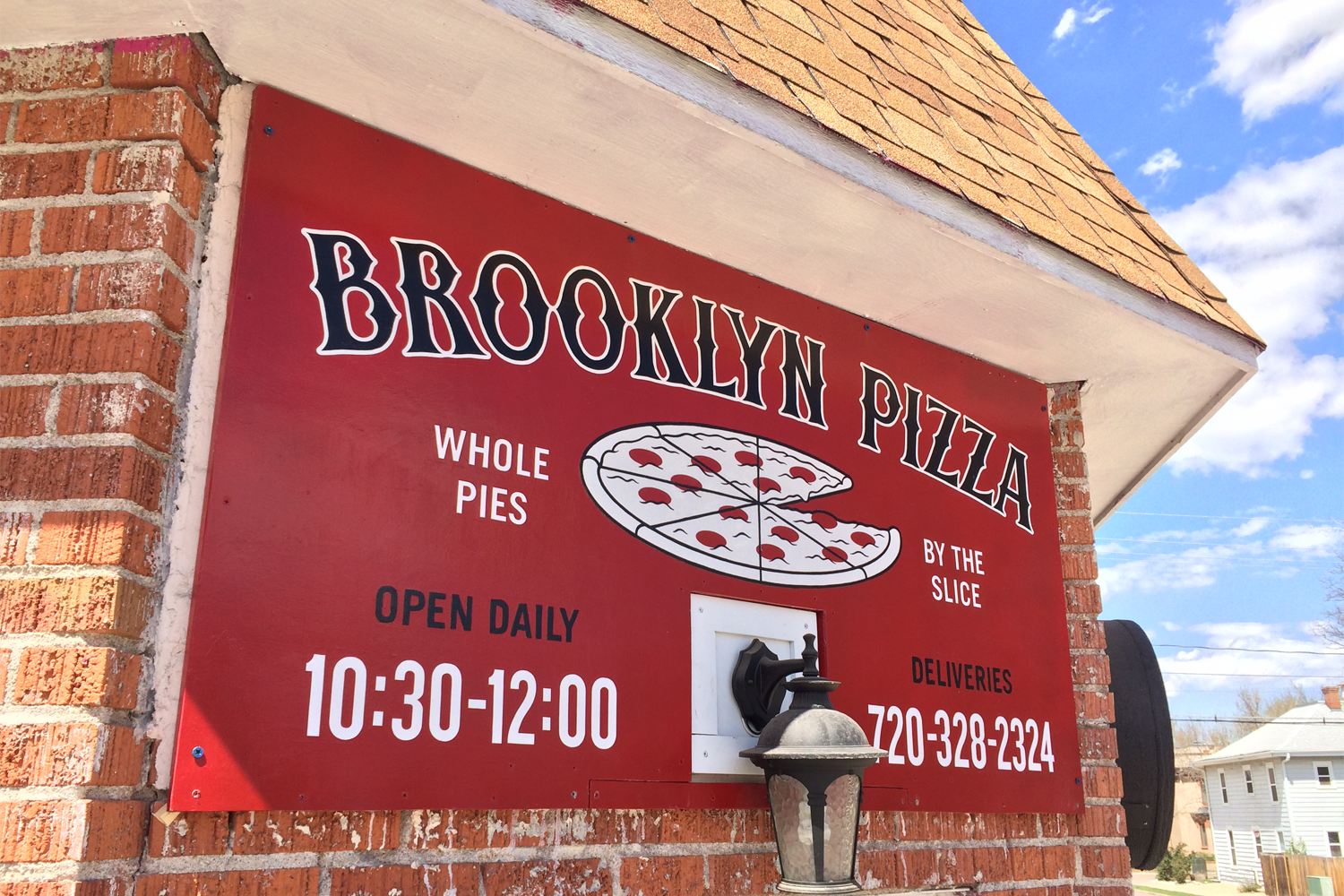 Brooklyn Pizza, Boulder, Colorado