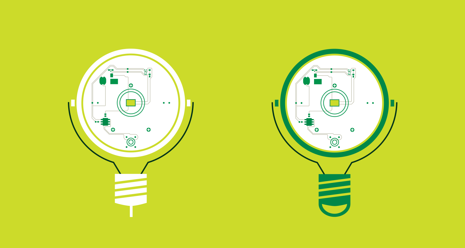 product illustration for Nokero solar lightbulbs