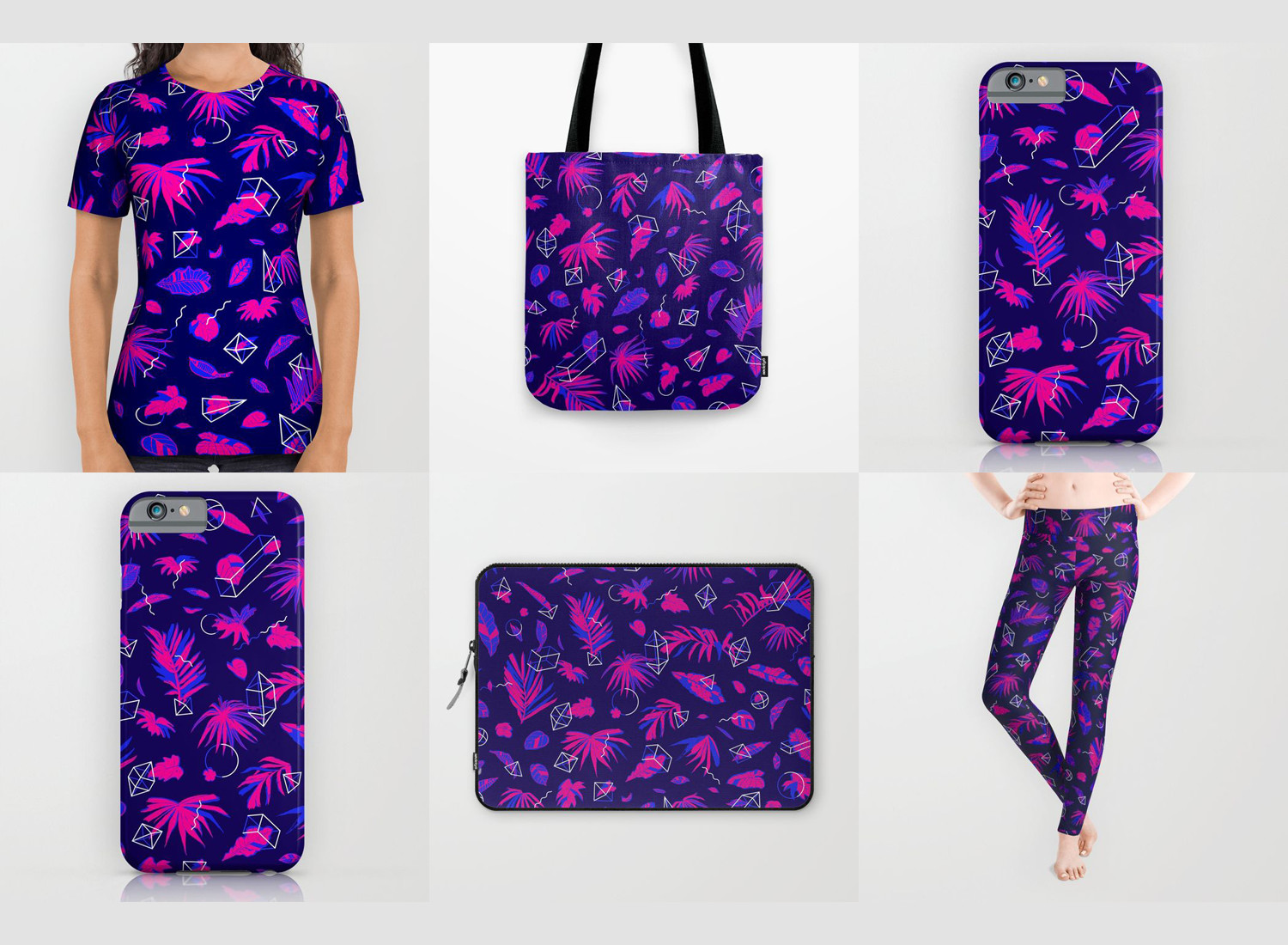 Dozens of home goods and other items from  society6