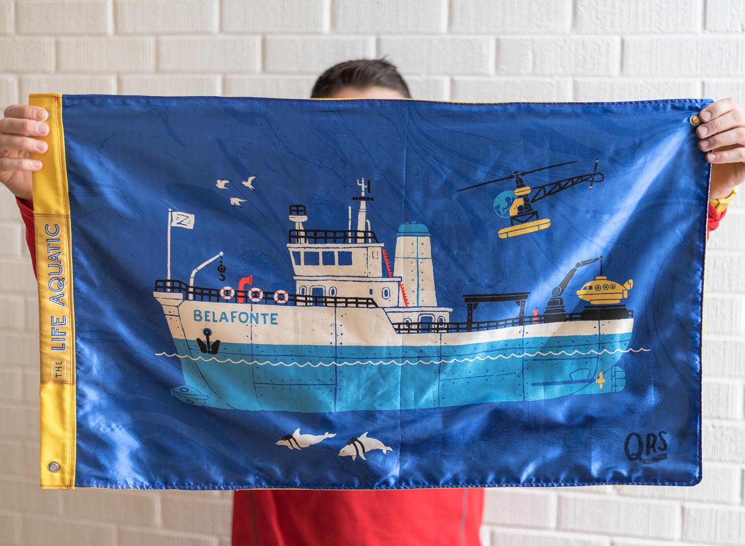 prototype of a flag design featuring the Belafonte