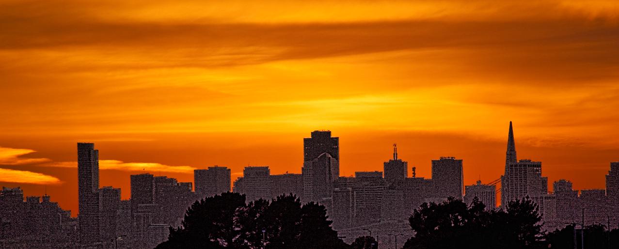 San Francisco at Sunset 1