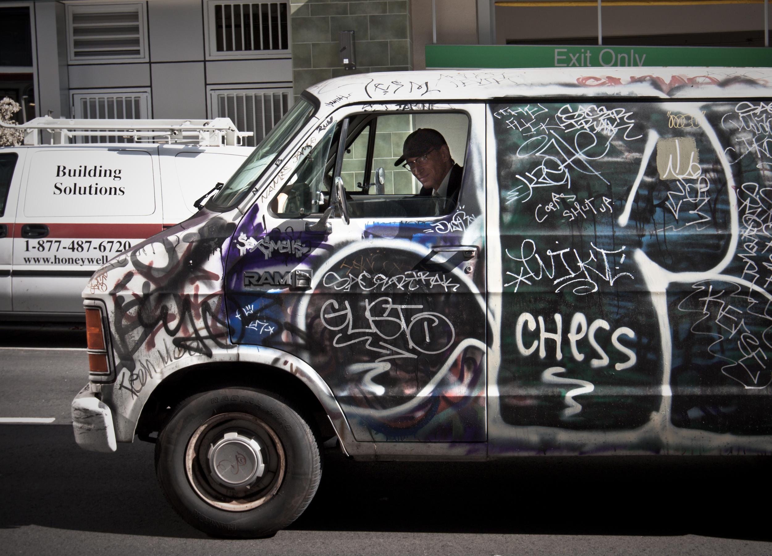 A Man In A Van...