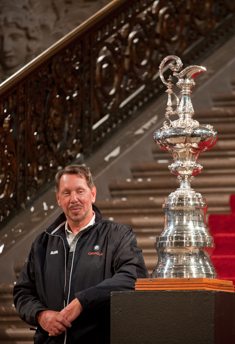 Larry Ellison & The America's Cup