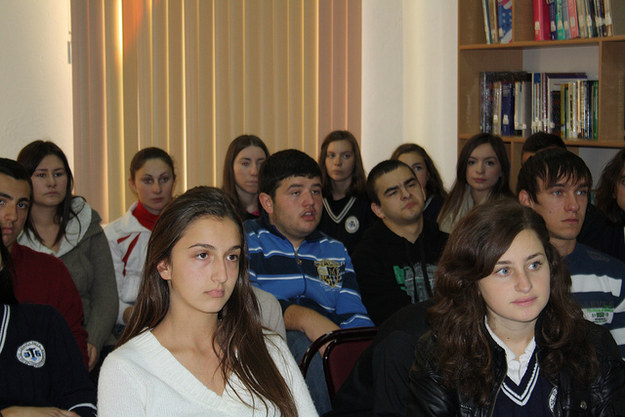 These students look excited for the  real world !
