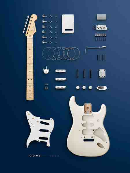 Fender Stratocaster Deconstructed