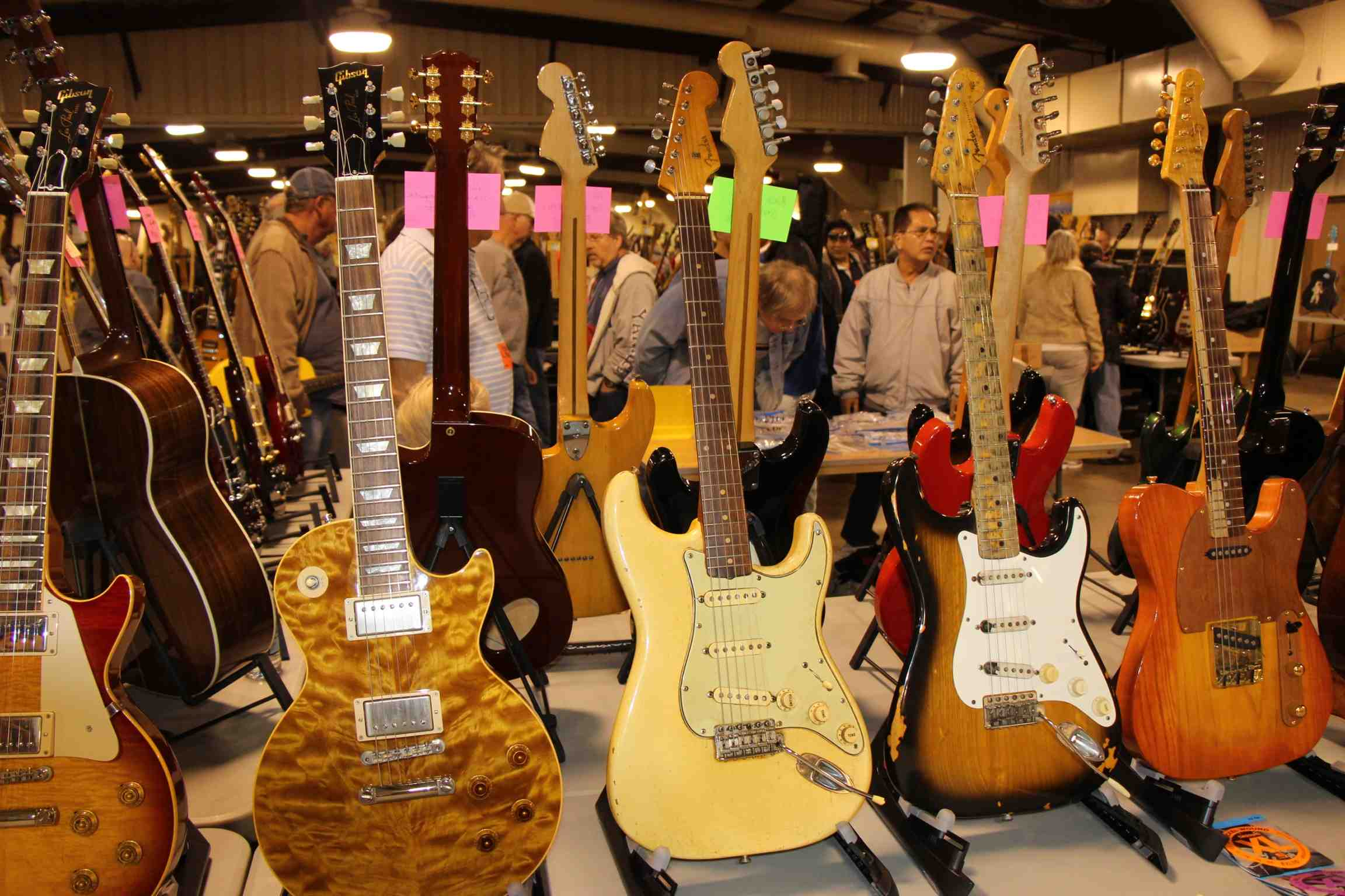 Gibson and Fender living together.jpg
