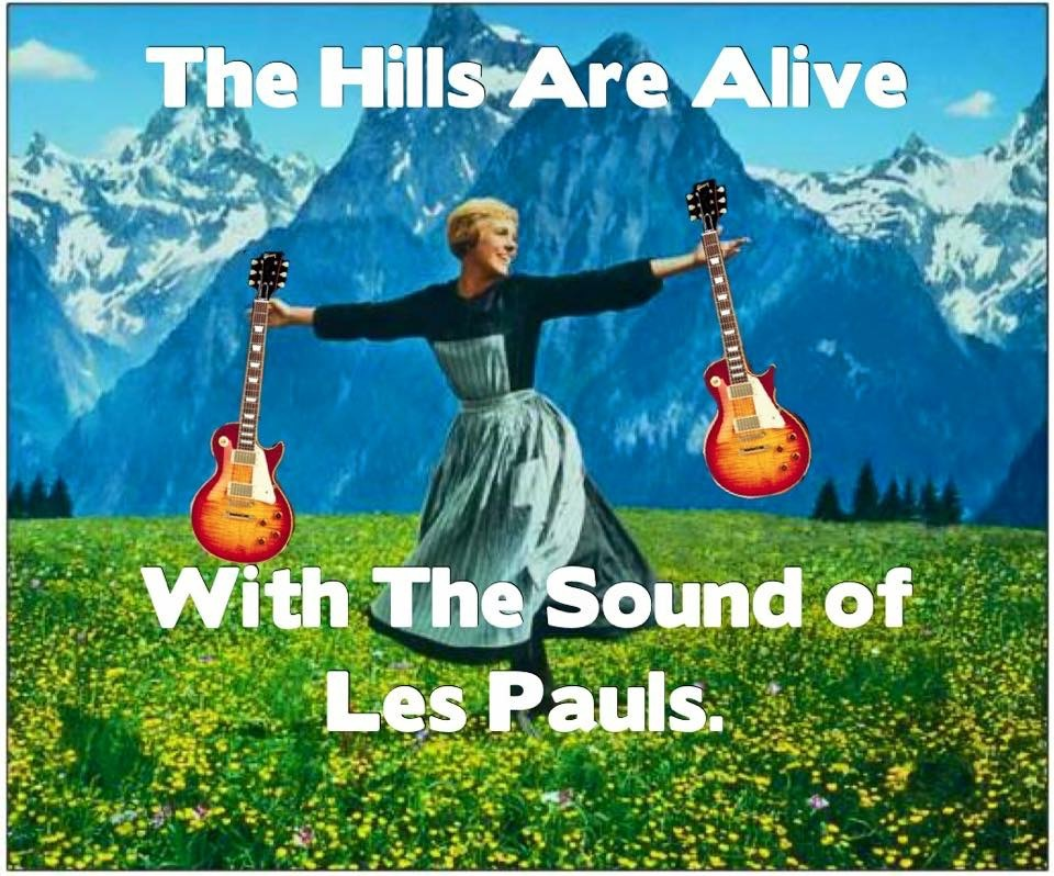Hills are alive with les pauls.jpg