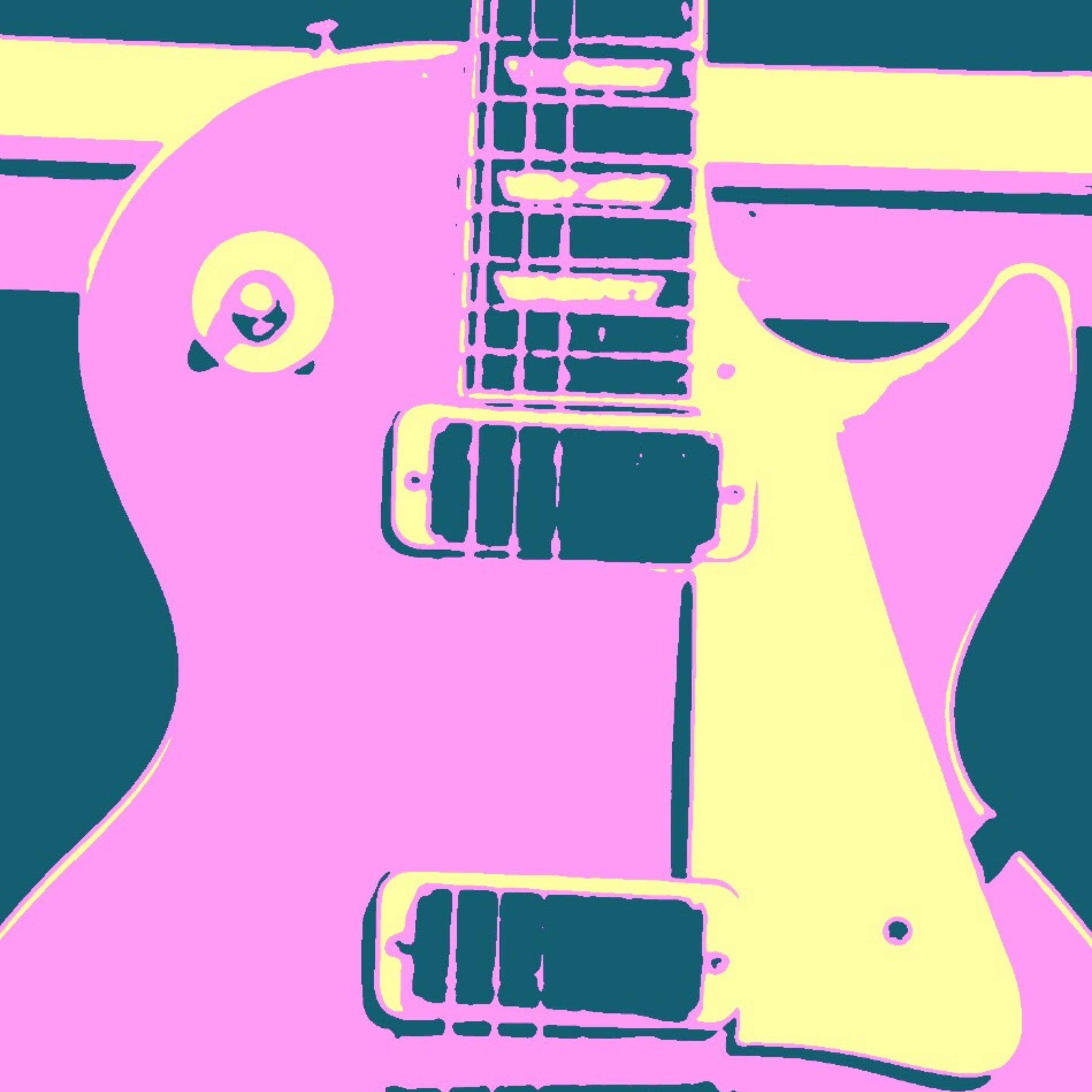 Les Paul Love Series-#LP1DPNK - Click to visit our guitar art store