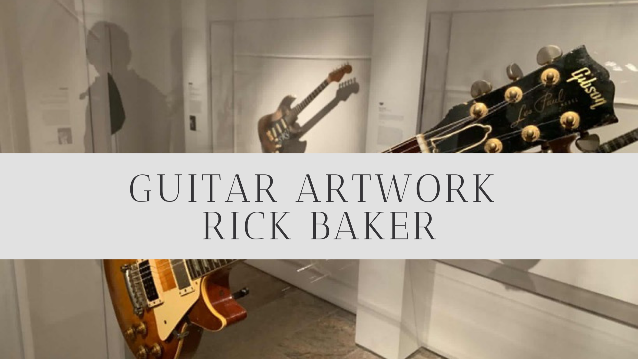 Visit our guitar art Gallery and Store  Here