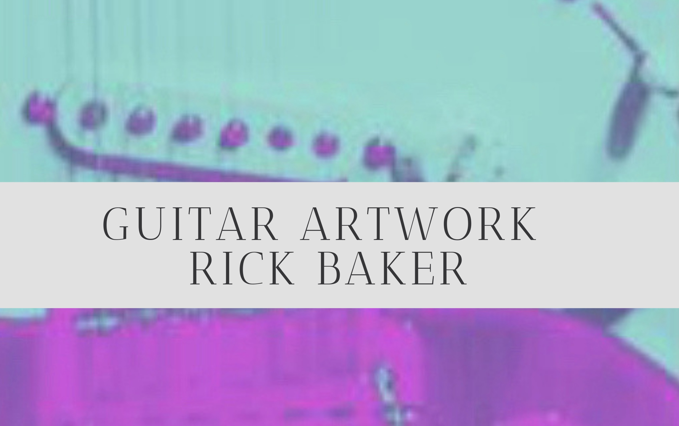 If you like guitars and cool art,  getcha some swag!