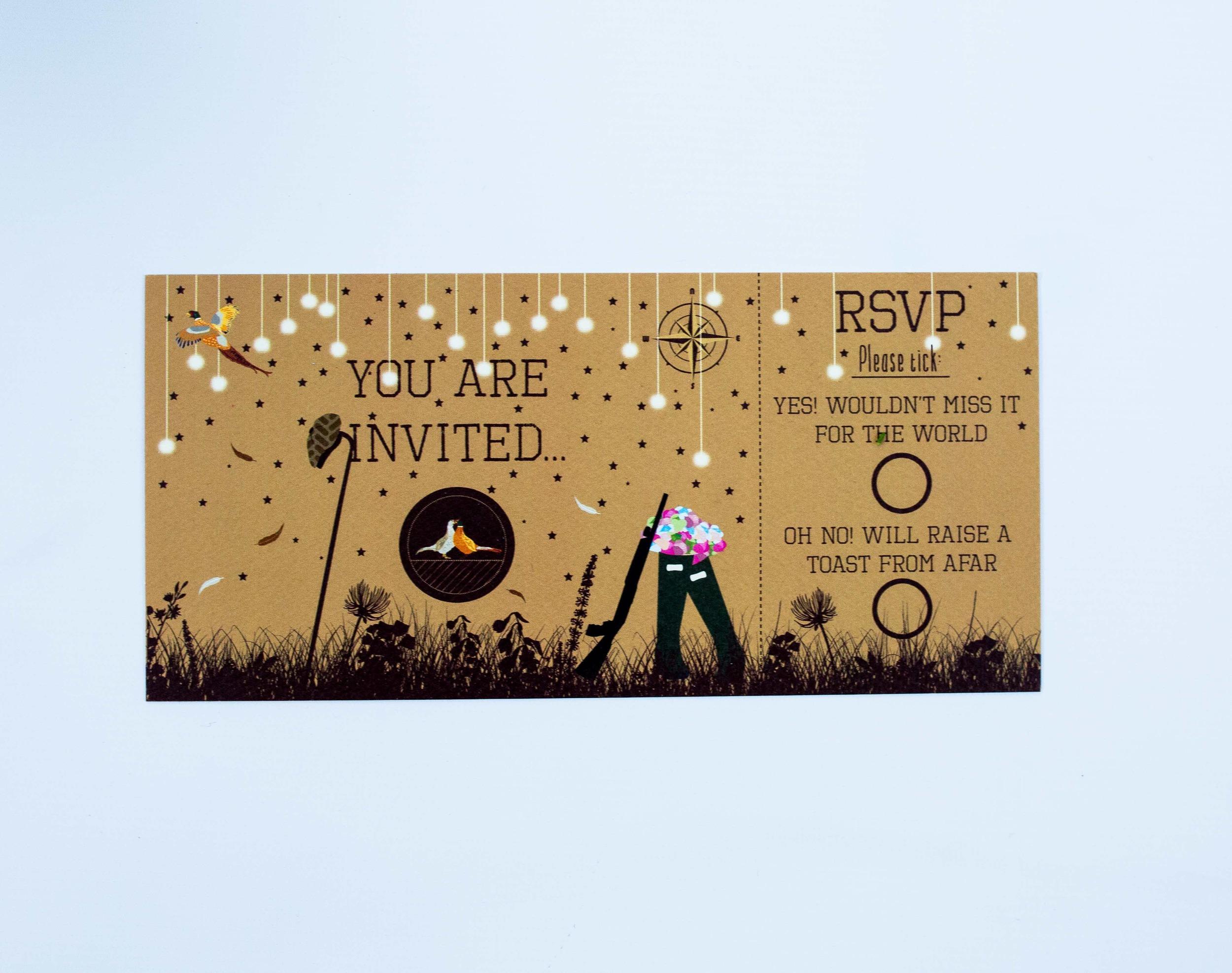 Bespoke Woodland Invitation Flat Front | RSVP Card Front.jpg