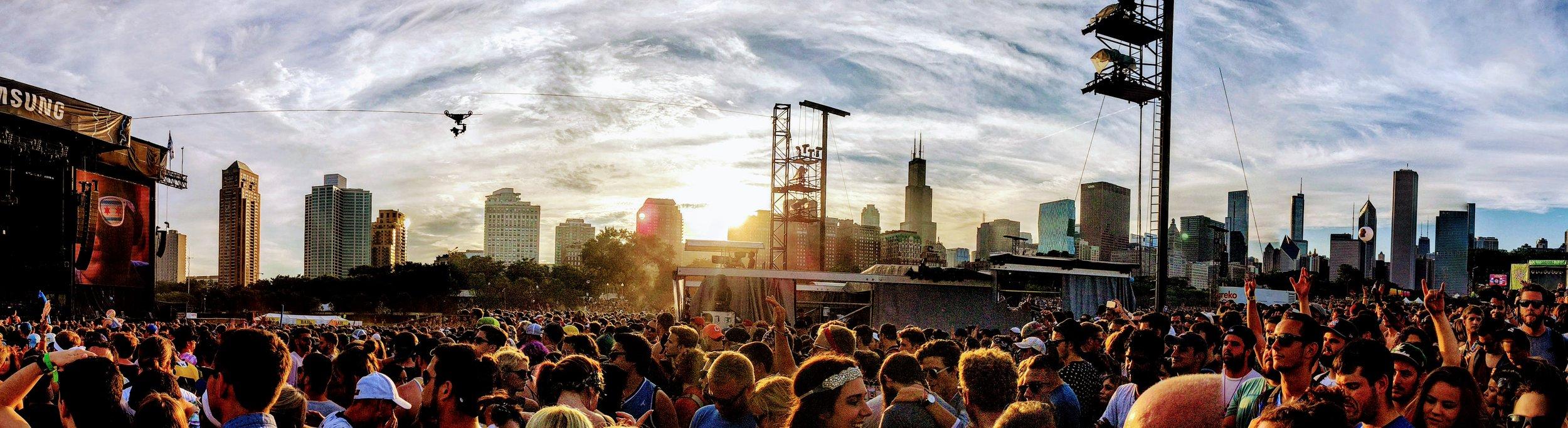 Lollapalooza 2016 | @thefaakehipster