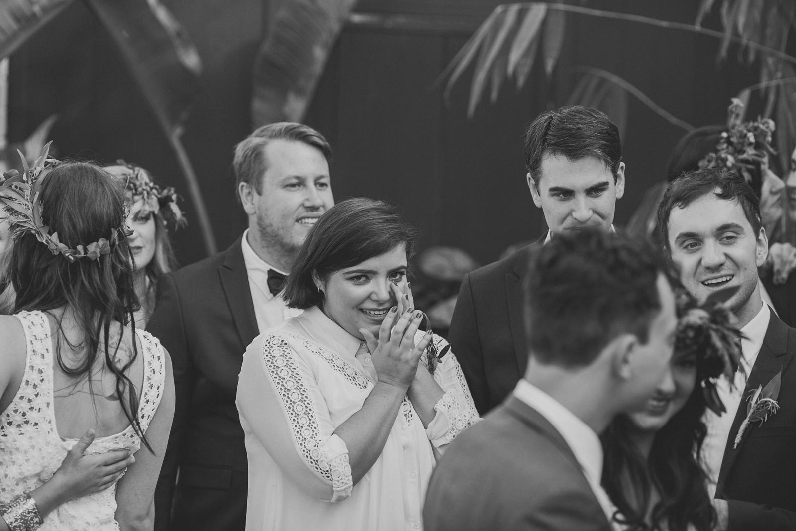 Pop & Scott natural, fun Melbourne Wedding