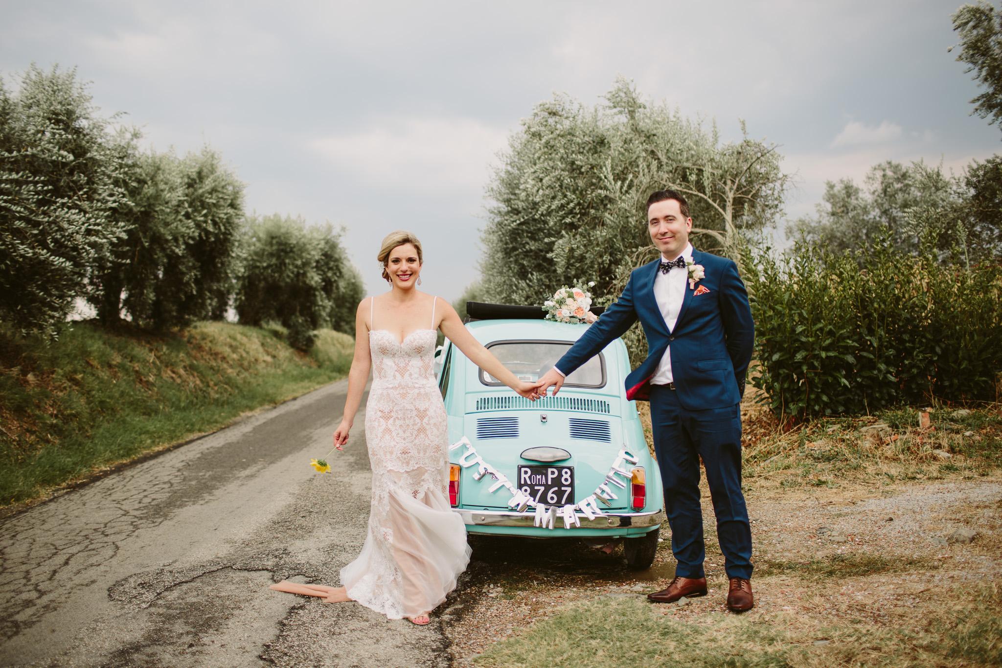 Jessica & Brendan - Cortona, Tuscany