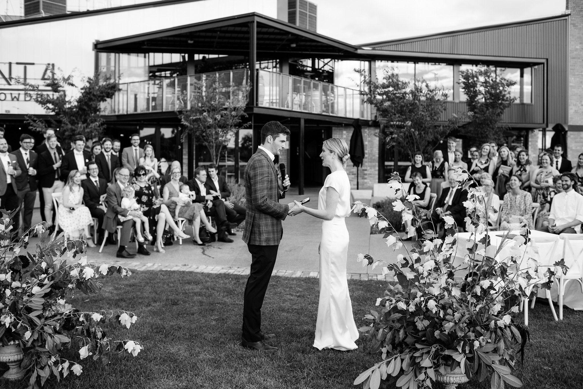 Wedding at Plant 4 in Bowden