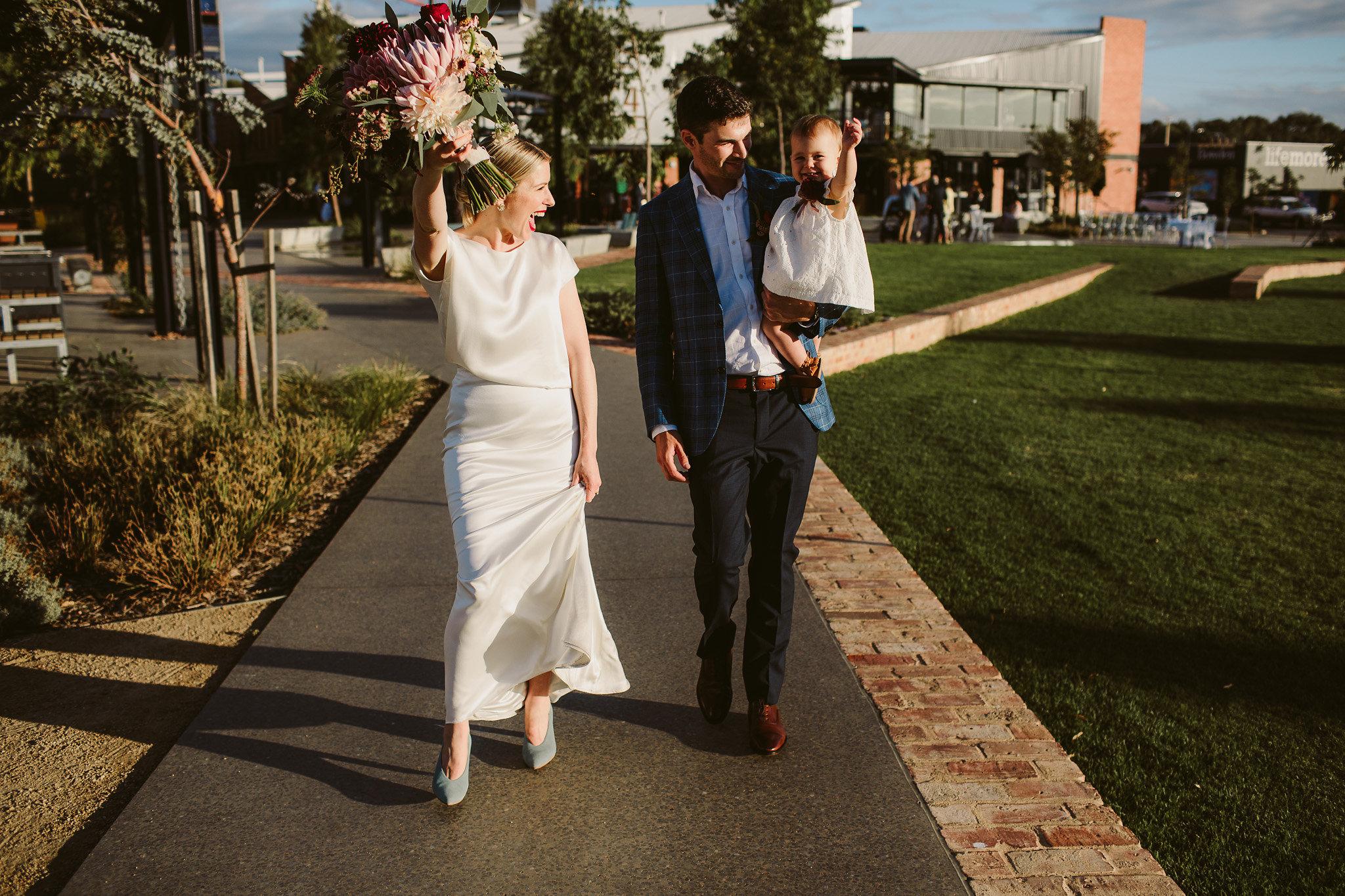 Cute wedding at Bowden's Plant 4