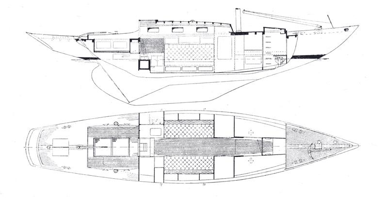Classicsailboats Utö risteilijä