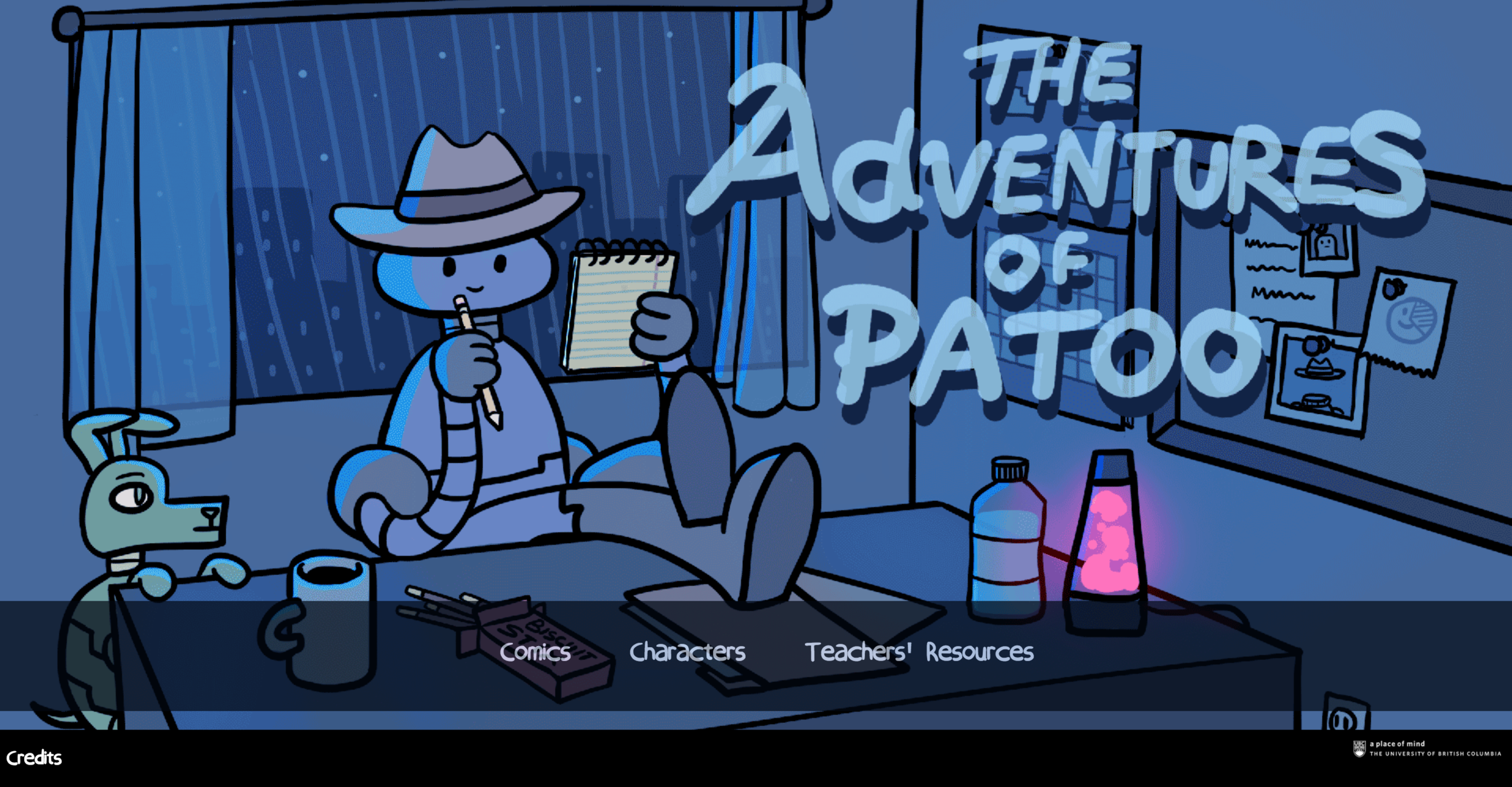 Adventures of Patoo Main Page