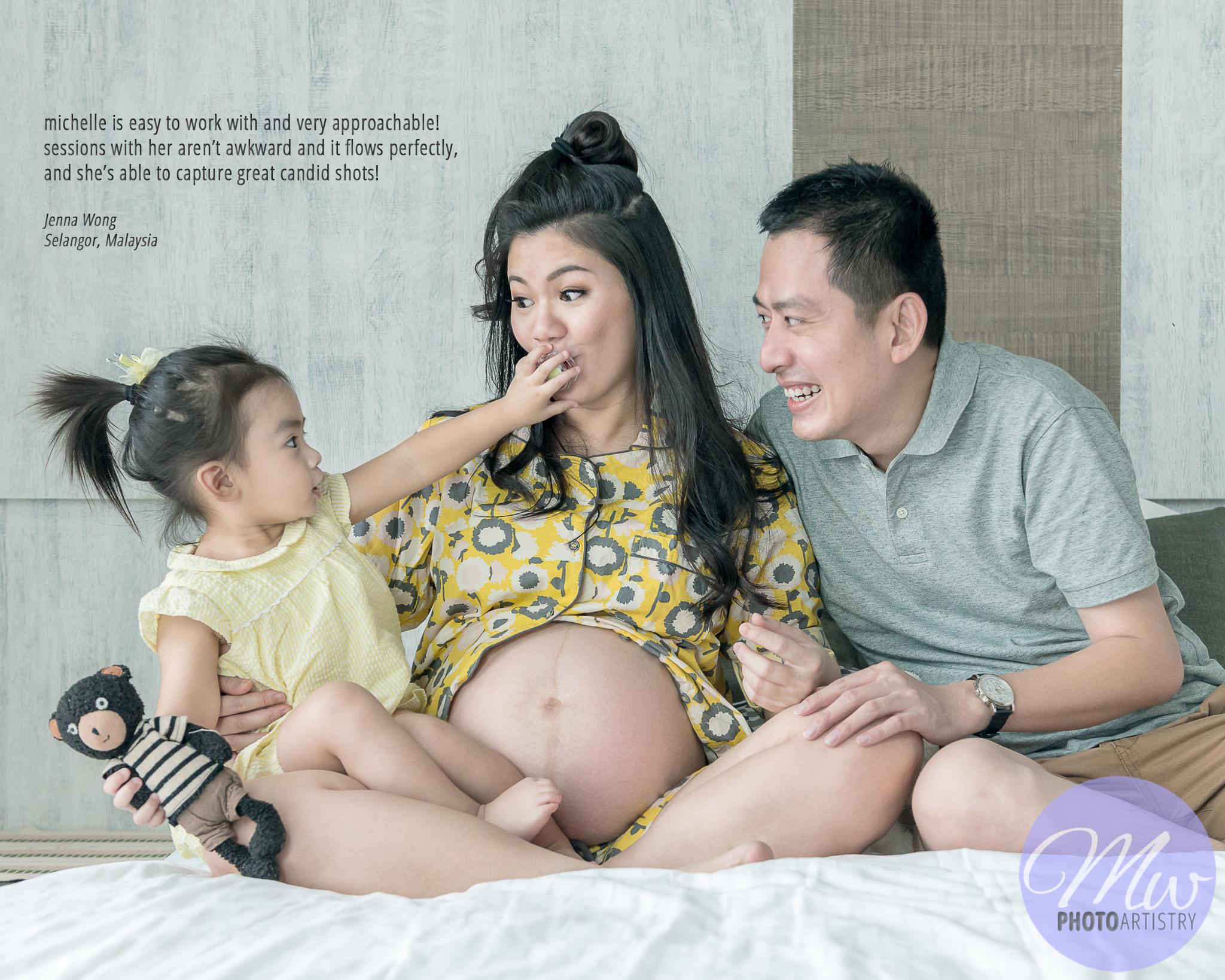 Malaysia Kuala Lumpur Kuching Maternity Family Photographer Testimonial Photo 01.jpg