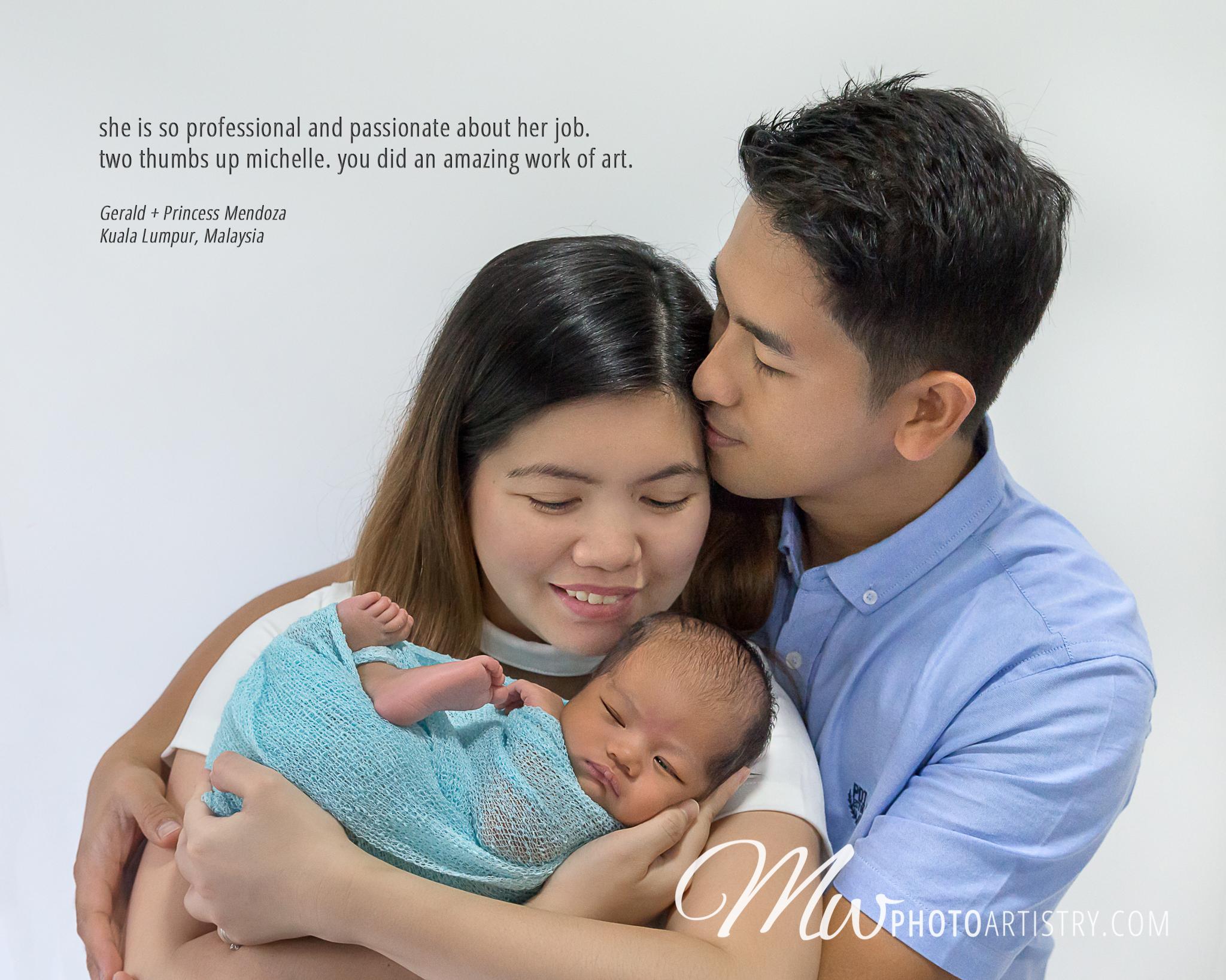 Malaysia Kuala Lumpur Kuching Newborn Baby Photographer Testimonial Photo.jpg