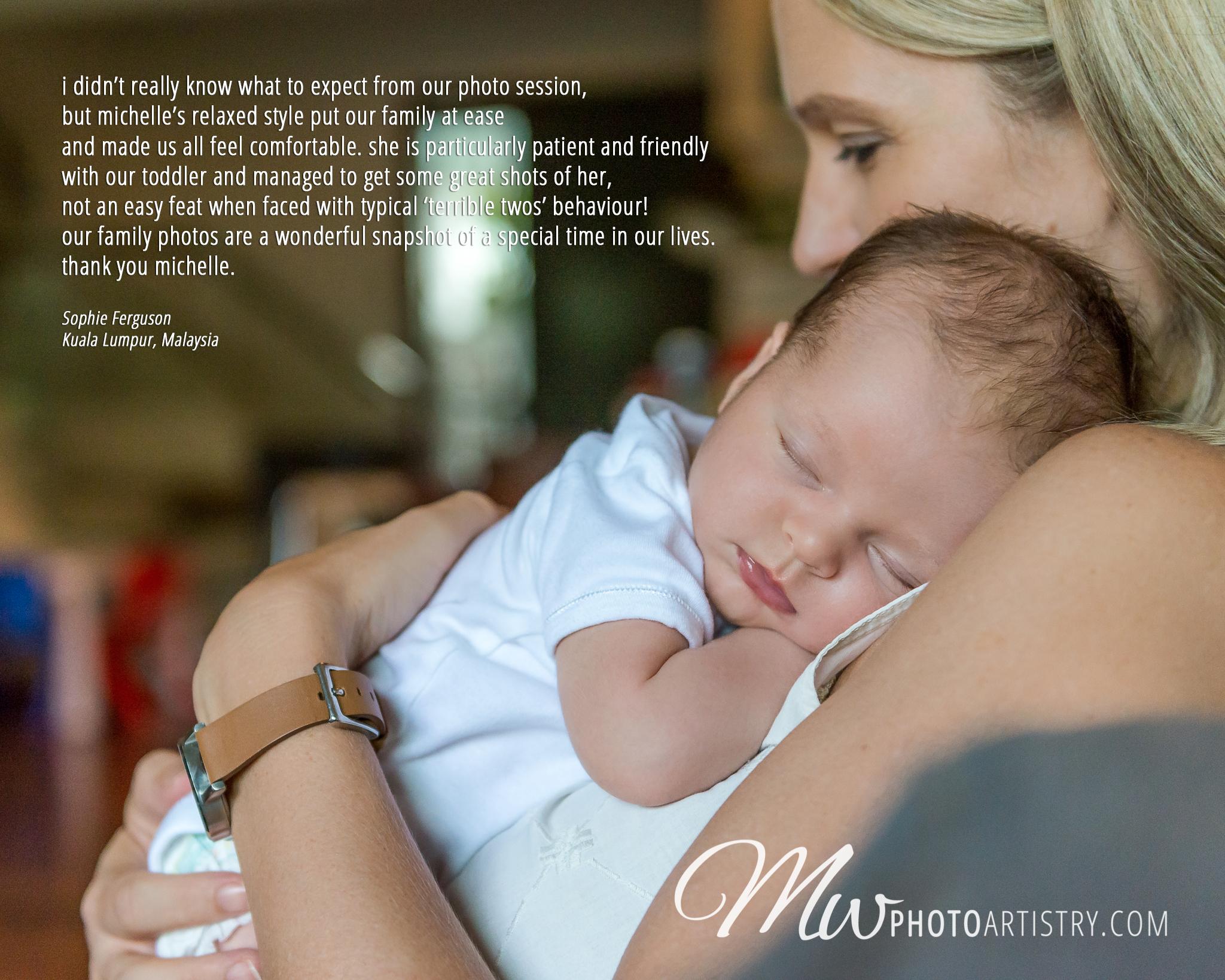 Malaysia Kuala Lumpur Kuching Newborn Baby Lifestyle Photographer Testimonial Photo.jpg
