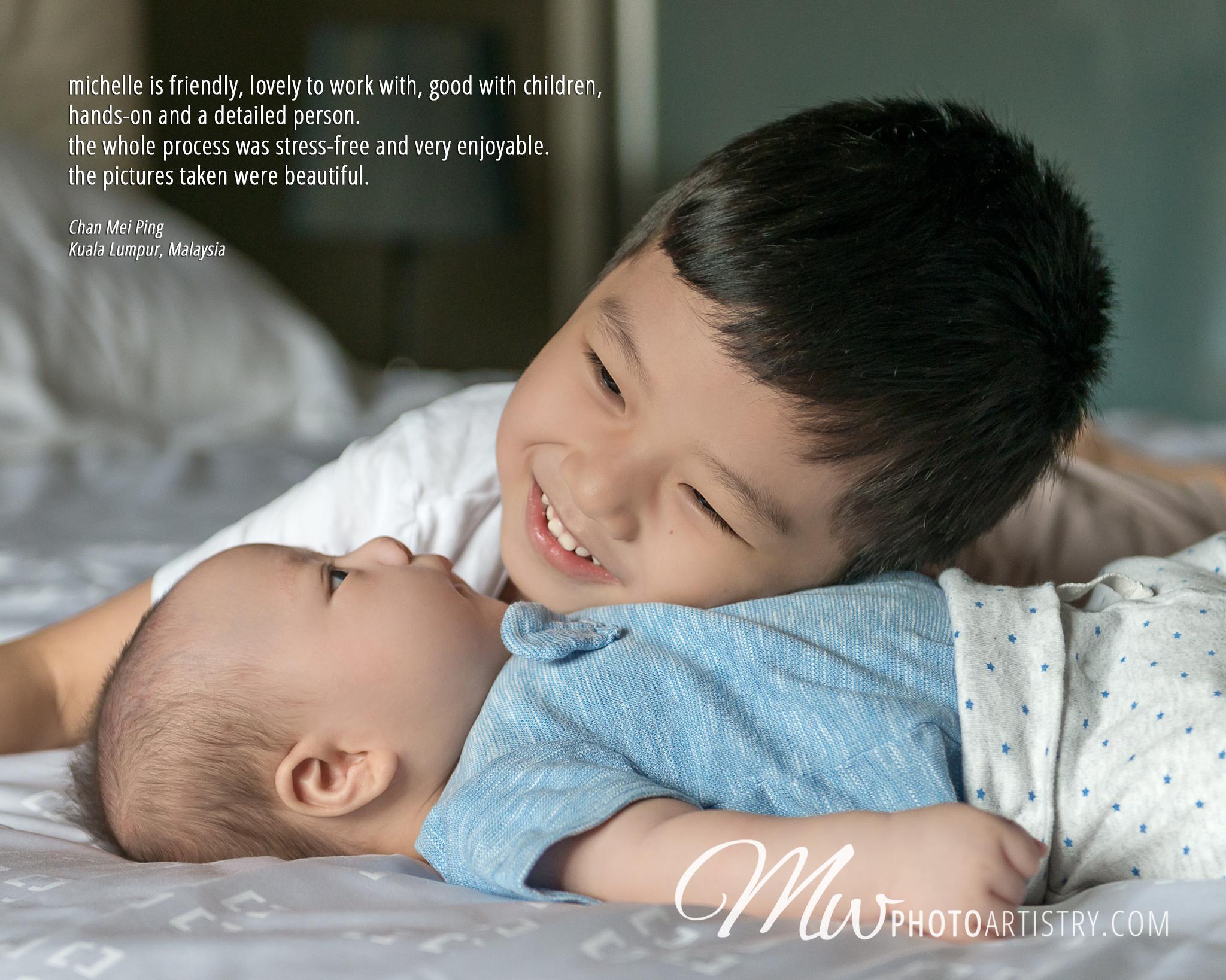Malaysia Kuala Lumpur Kuching Newborn Baby Lifestyle Photographer Testimonial Photo 02.jpg