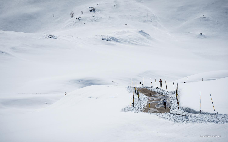 Passo Giau: già tutto è pronto per l'inverno _ Photo  @GIUSEPPEGHEDINA.COM