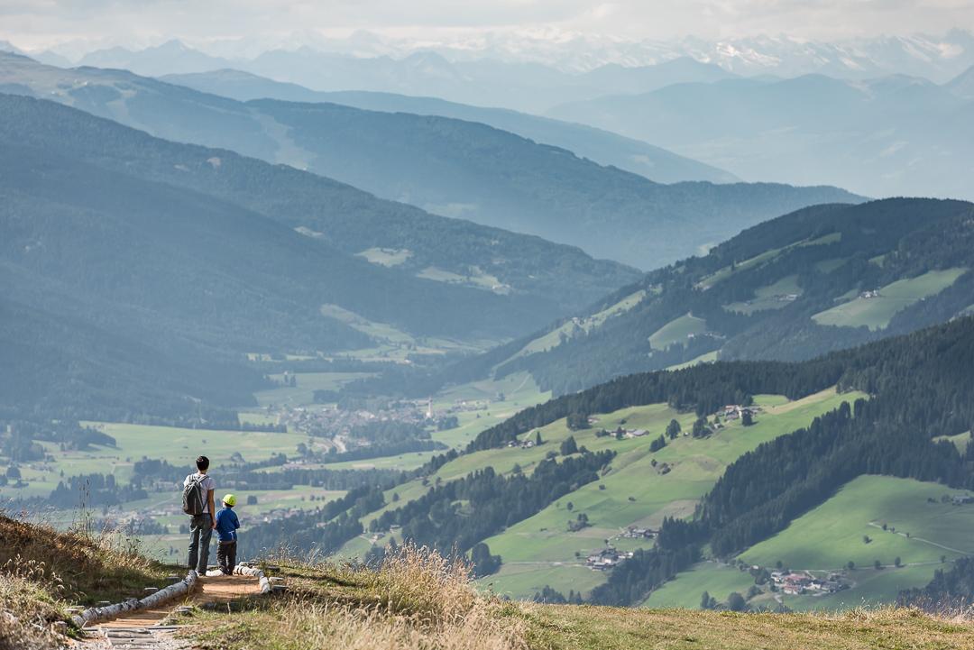 L'intera Pusteria ai vostri piedi dalla cima del Monte Elmo _ Photo   ©GIUSEPPEGHEDINA  _