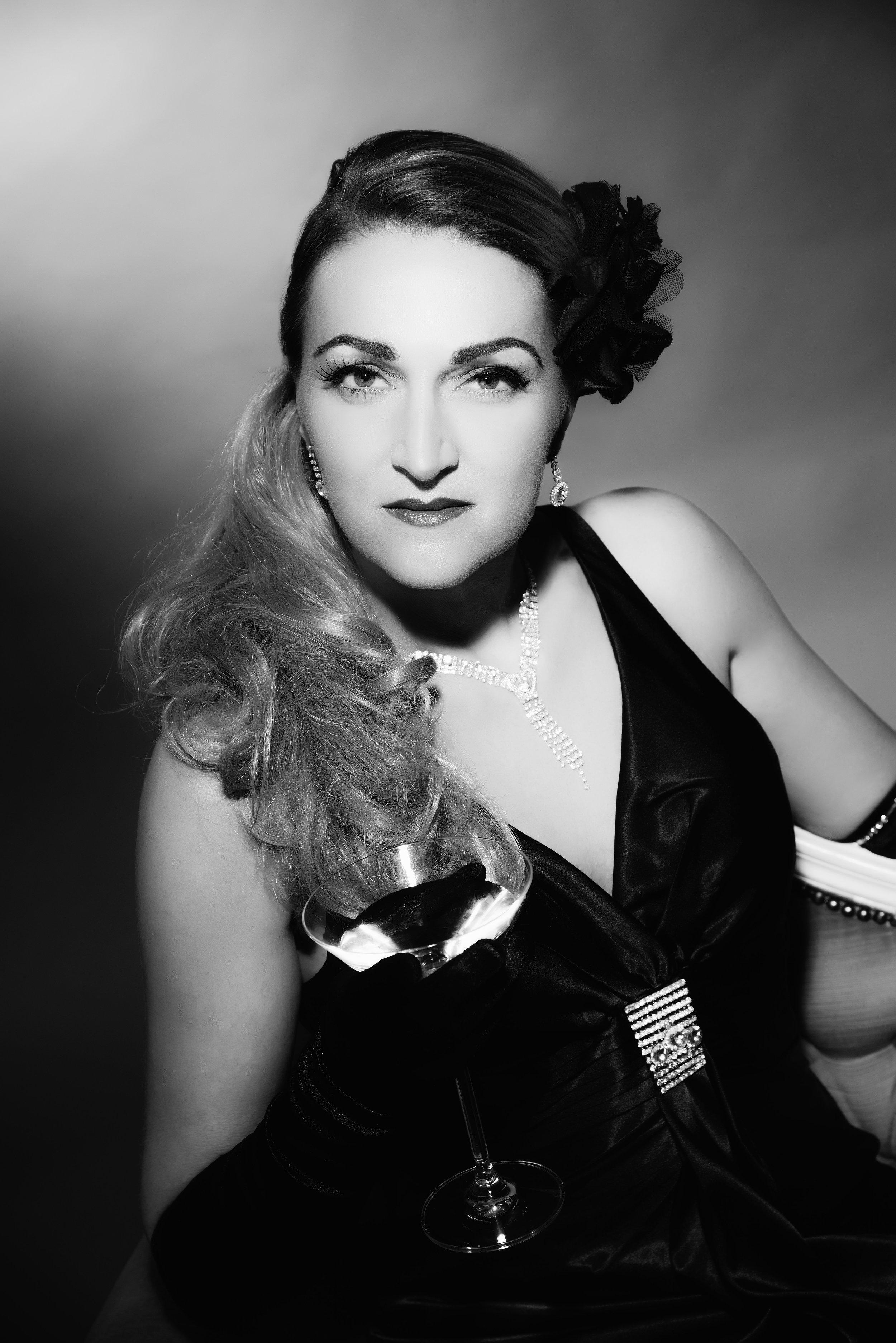 Classic Hollywood Portret 1-5 personen Als Filmster Op De Foto