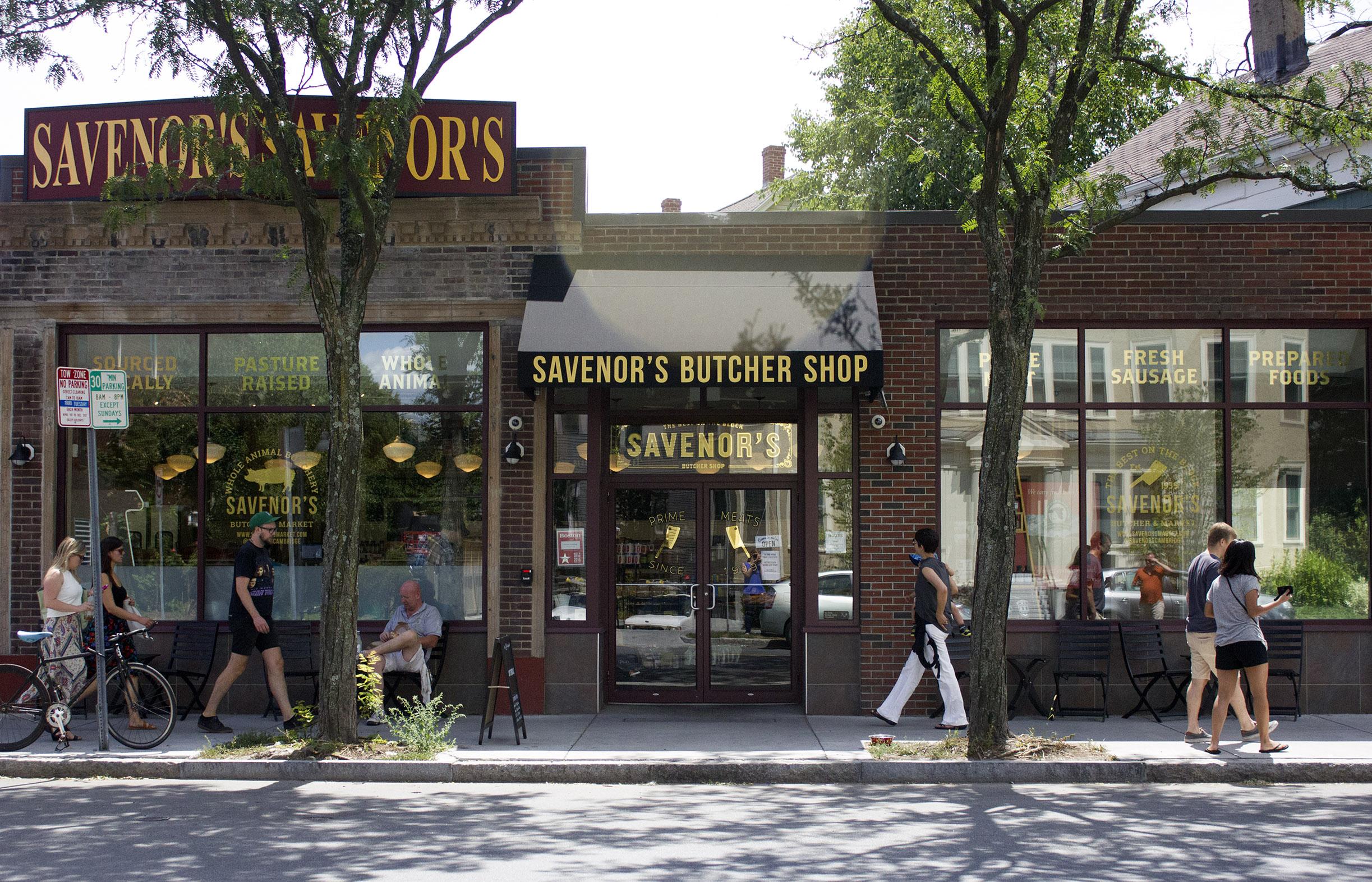 Cambridge storefront