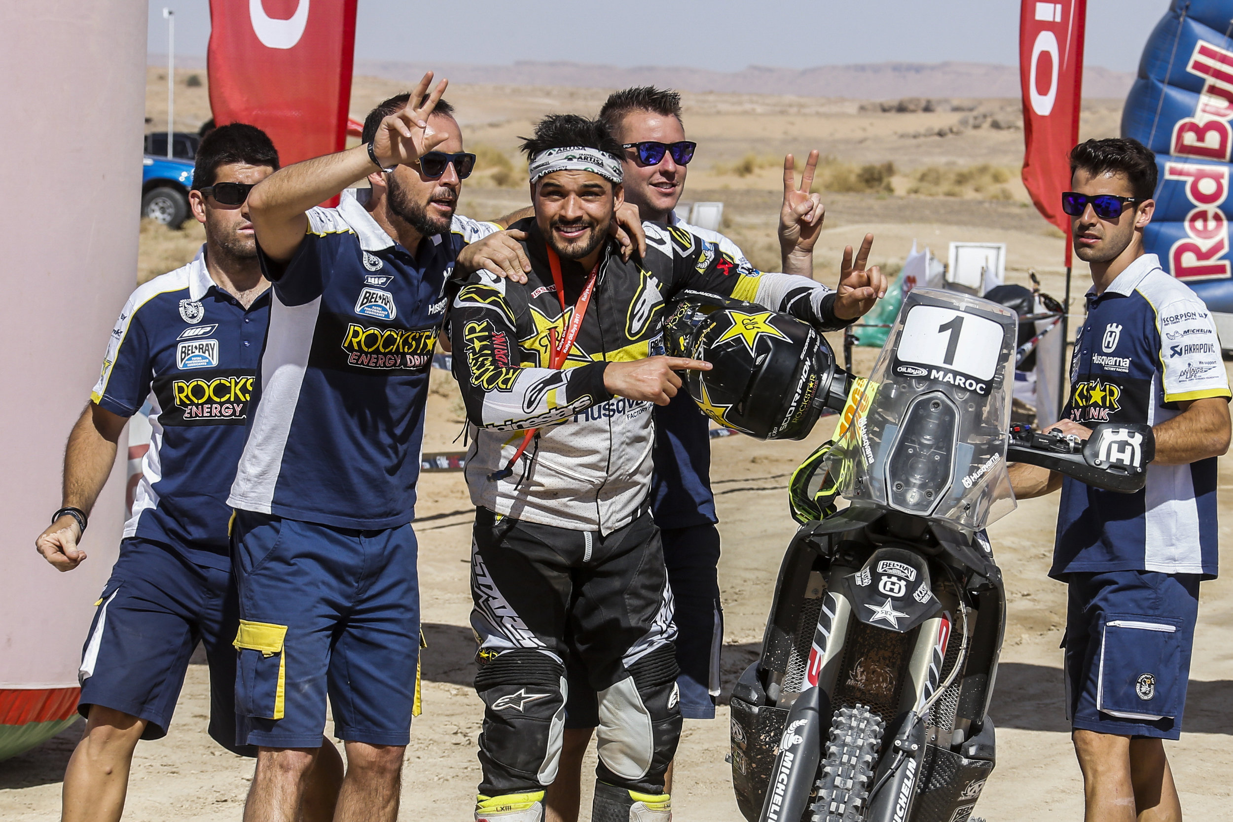 Quintanilla retains his world title in Morocco.
