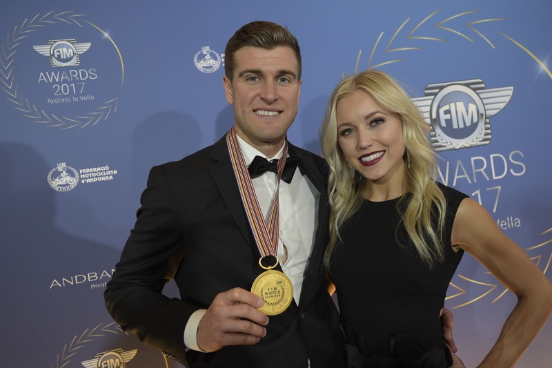 Mr Ryan Dungey & Mrs Lindsay Dungey - 2017 AMA Supercross FIM World Champion