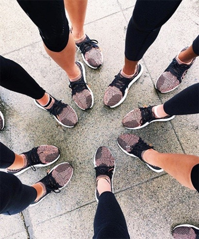 Post run talk for Adidas and Refinery29