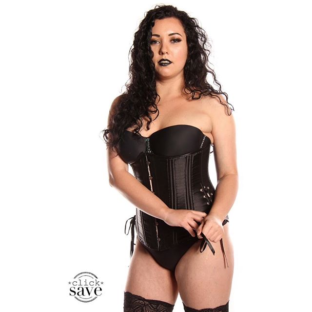 It's @koshkakillawatt #NuffSaid . . #gorgeous #burlesque #lingerie #corset #blackcorset #boots #bootsfordays #leatherboots #fetish #kink #hotdamn #hottiemchotterson #clicksave