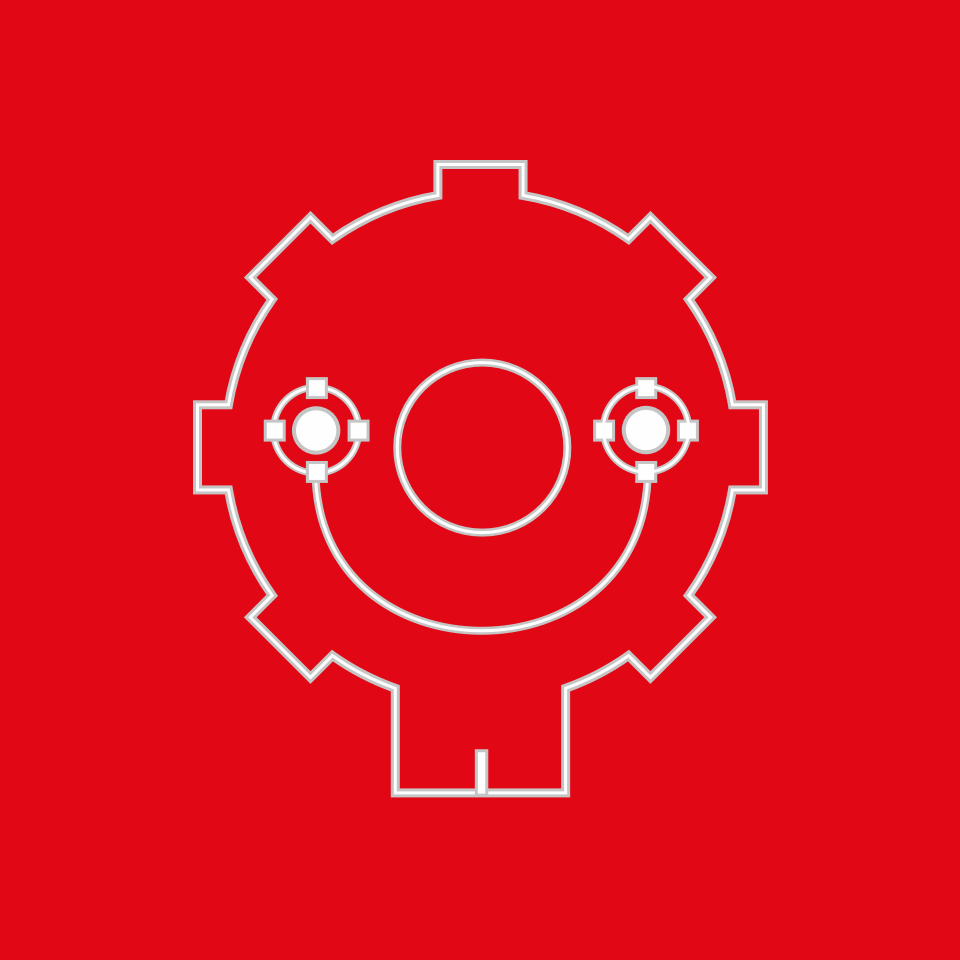 Symbol Variant · Red Background