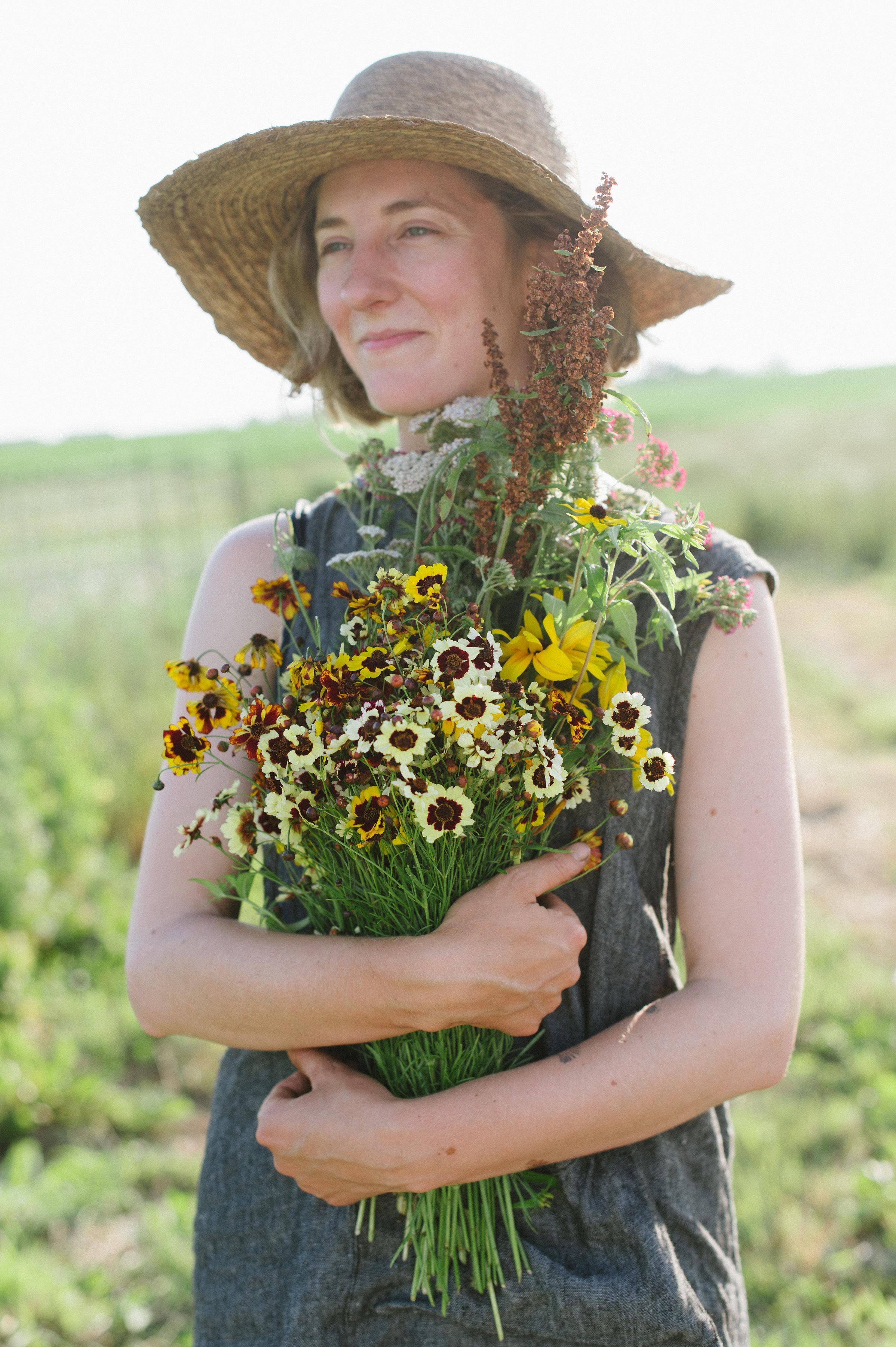 Sweet Gale Gardens, flower farmer