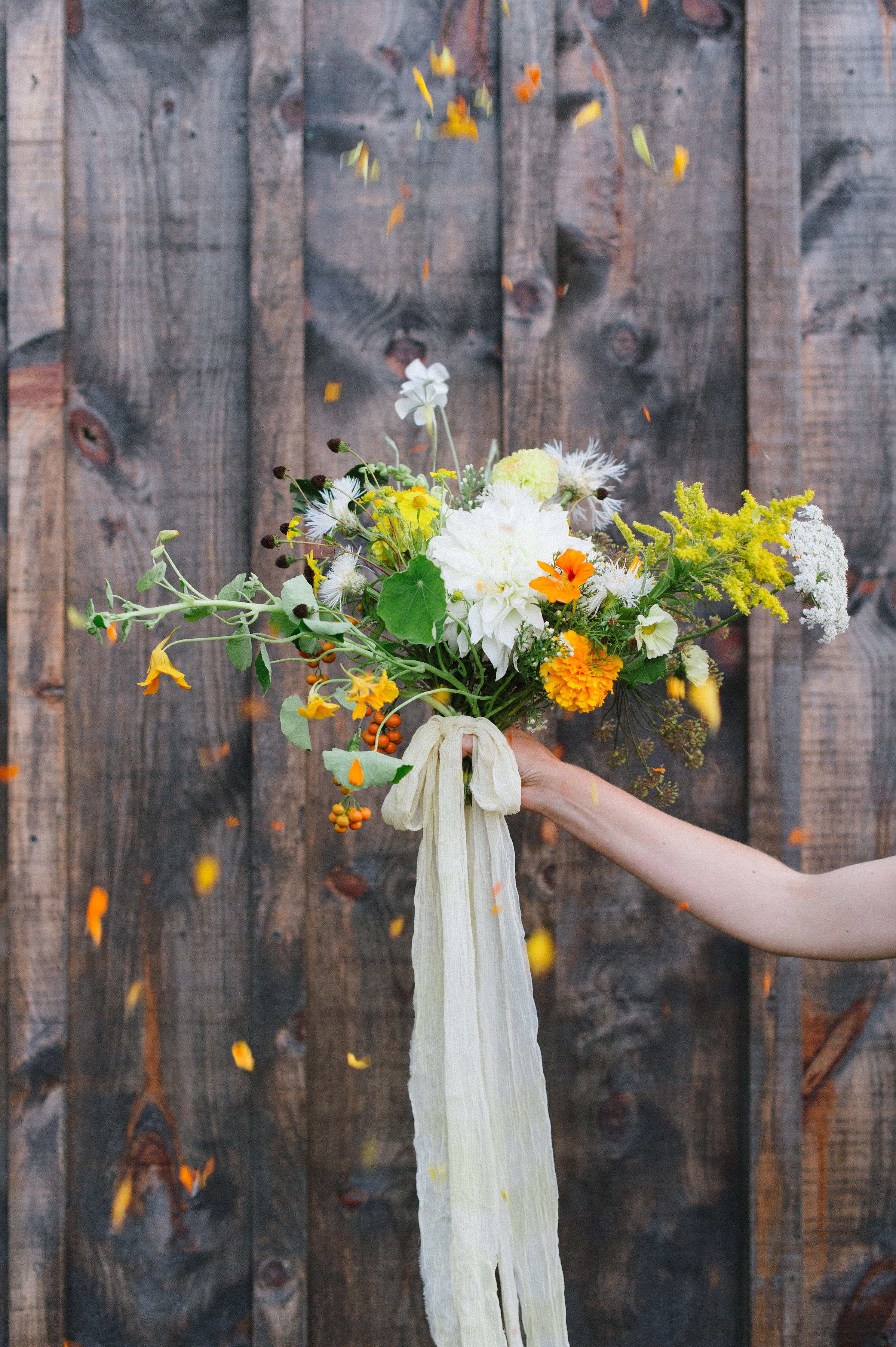 wedding flowers, bridal bouquet, farm flowers