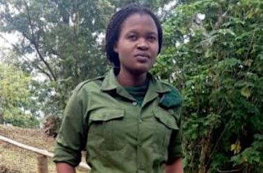 Ermordet: Rangerin Rachel Masika Baraka |  © by Foto VNP