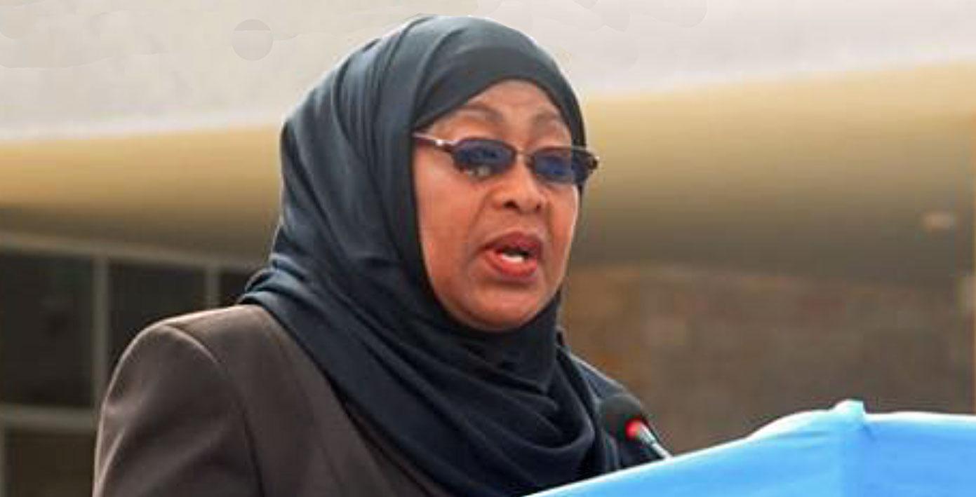 Stellte neue Spezialeinheit vor: Tansanias Vizepremierministerin Samia Suluhu Hassan | ©  Foto by tzinfo