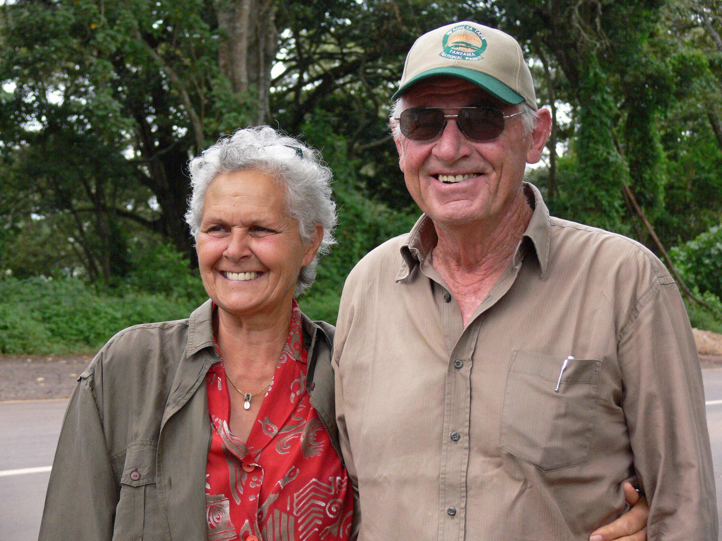 Lilian und David Rechsteiner: Über ein halbes Jahrhundert im Einsatz für die Wildtiere |  © Foto by R.Suter