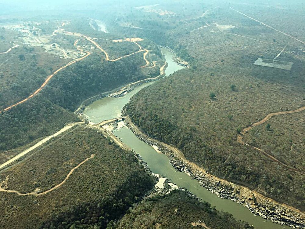 Ende eines UNESCO-Weltnaturerbes:  Start zum Dammbau im Selous |  © Foto by Ndege