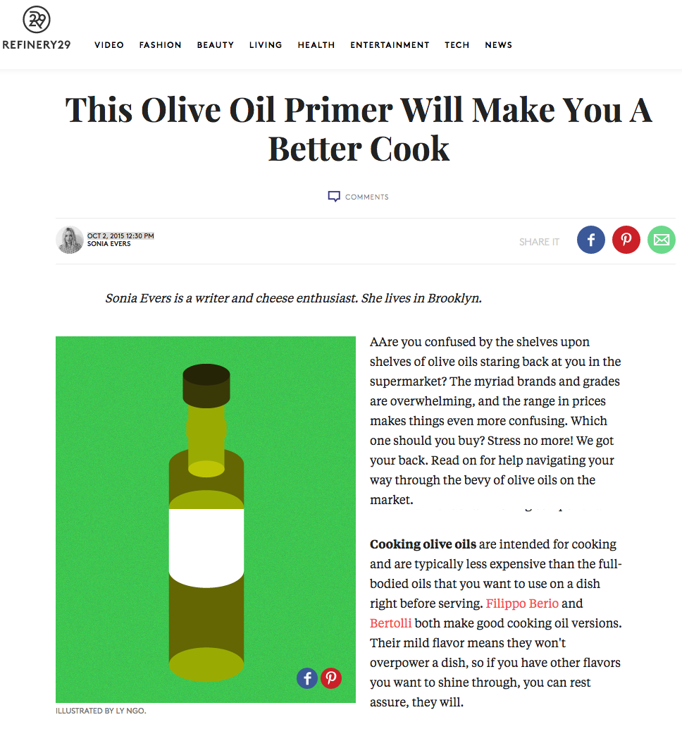 This Olive Oil Primer Will Make You A Better Cook
