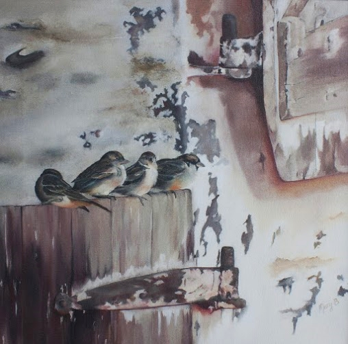 Birds in Barn